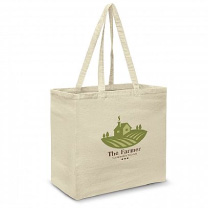 Promotional Calico Tote Bag Printed With Logo
