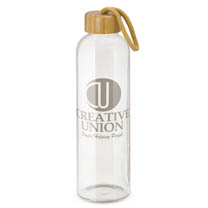 Corporate Promotional Glass Water Bottles