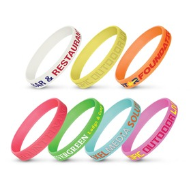 Glow Silicone Wrist Bands