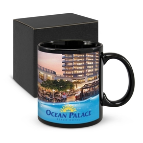 Parkville Black Photo Mugs