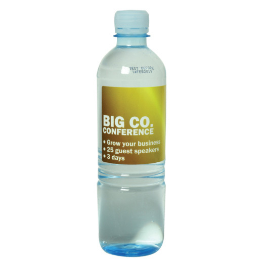 500ml Custom Water Label